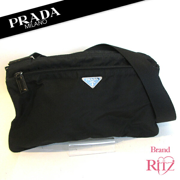 489d1e490b68f5 More Prada shoulder bag is in stock now (^ ^) is a shoulder bag with a  sturdy nylon Prada classic light ☆ please purchase this opportunity come (^  O ^) /!