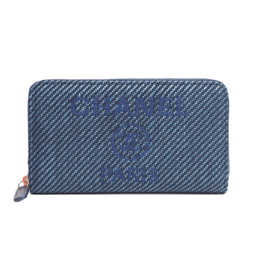 シャネル ドーヴィルミニ財布
