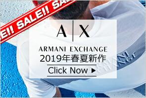 A|X ARMANI EXCHANGE  2019年 SS 春夏 新作