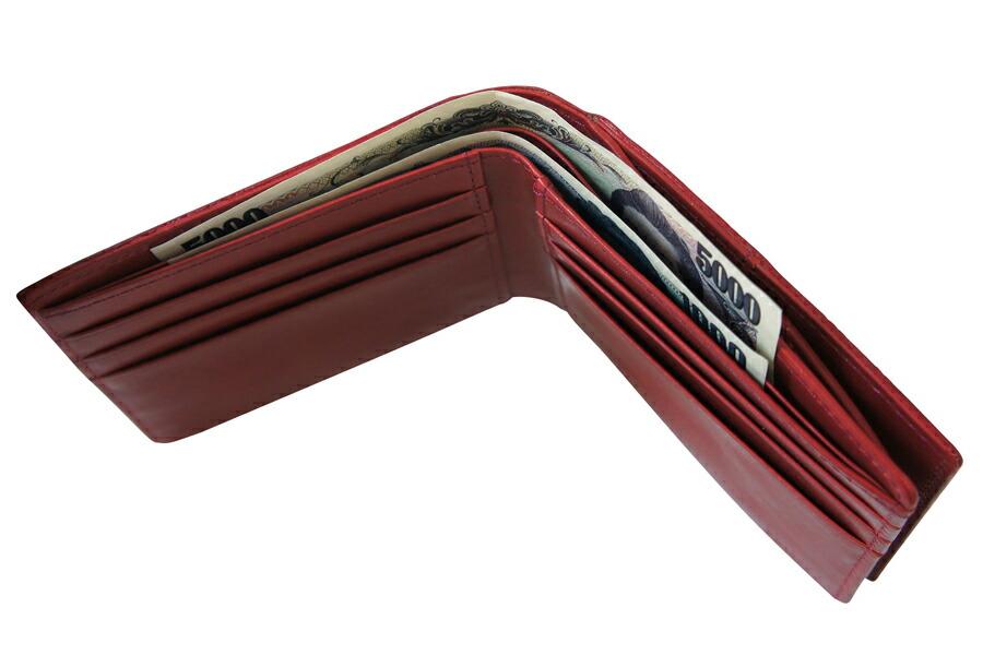 アニアリ・aniary 財布 二つ折り財布【送料無料】リアルリザード 二つ折り財布 Bill Holder 92-20000