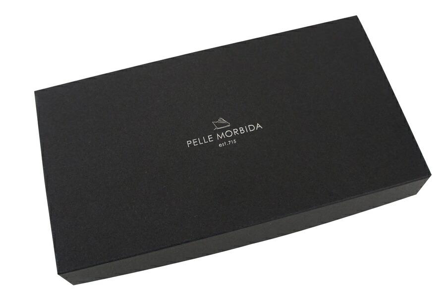 ペッレモルビダ・PELLE MORBIDA ロングウォレット【送料無料】プリズムレザー ラウンドファスナー  Wallet PMO-BA111