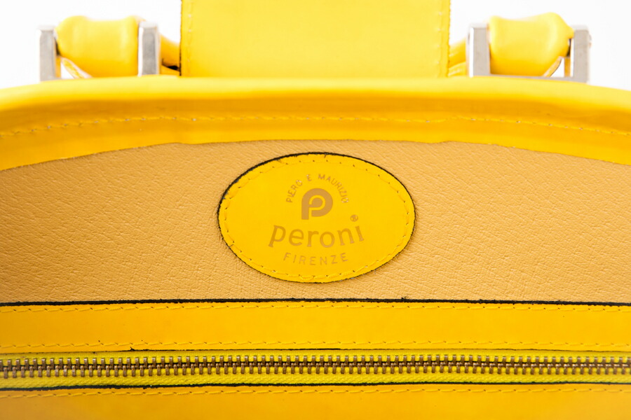 ペローニ・peroni ダレスバッグ【送料無料】 牛革 dulles Bag R120