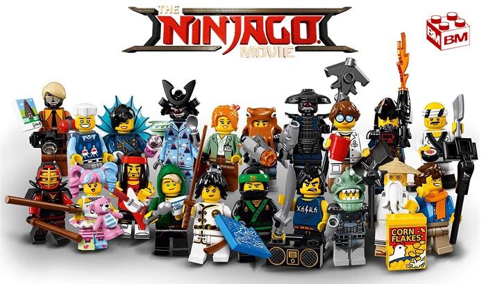 Zane LEGO® Sammelfigur 71019 Ninjago Movie Serie 1