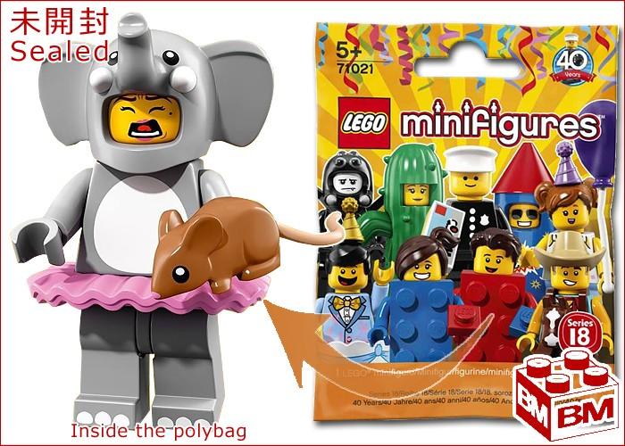 Elephant Girl Elefant 71021 Lego Serie 18 Sammelfigur
