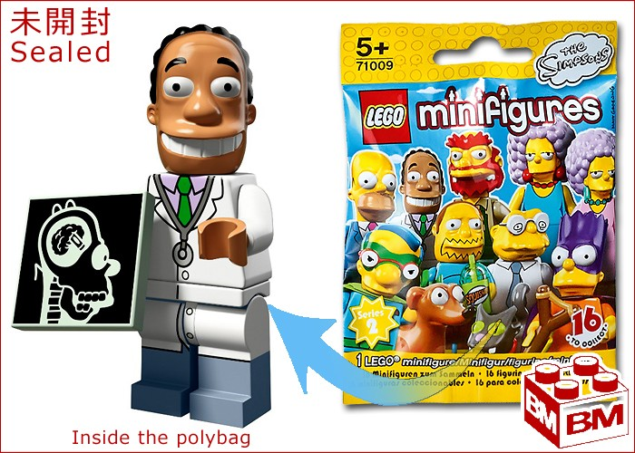 Dr Hibbert Lego Minifigure Simpsons Series 2 Mini Figure