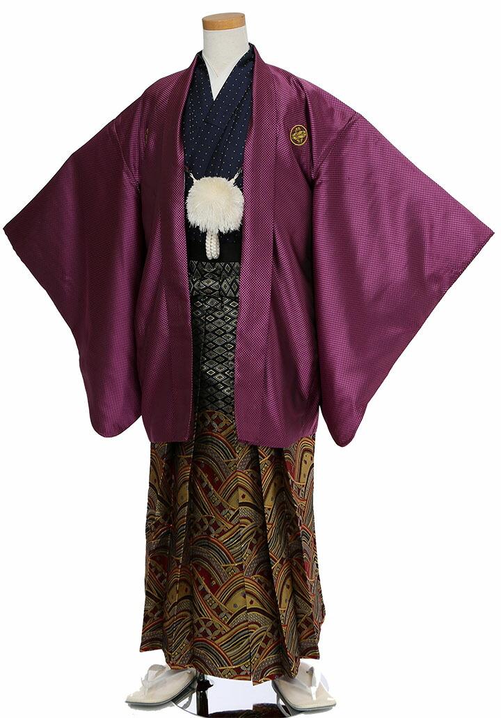 レンタル卒業式袴の立ち姿
