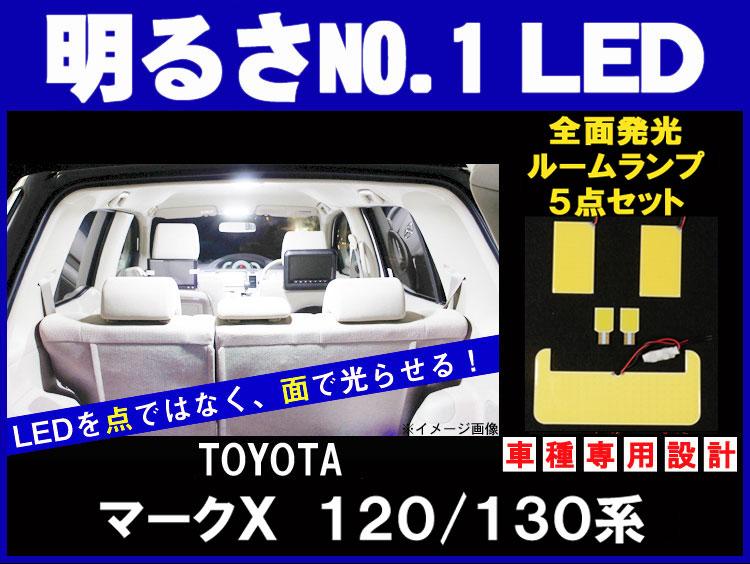 マークエックス 120系/130系 全面発光LEDルームランプ