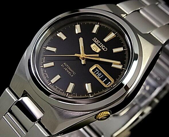 bright  seiko  seiko5 men u0026 39 s watch automatic winding metal