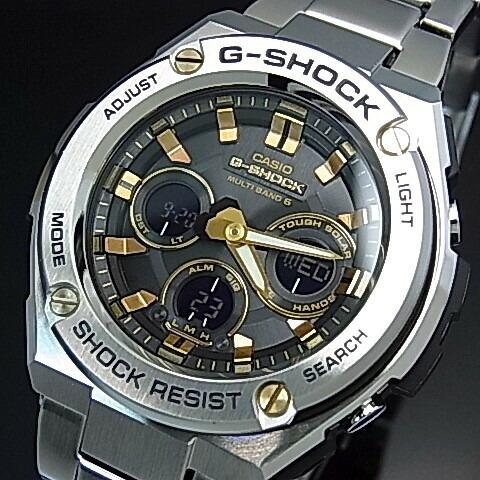 c4757993db CASIO ランカスター/G-SHOCK【カシオ/Gショック】G-STEEL ブライト/G ...