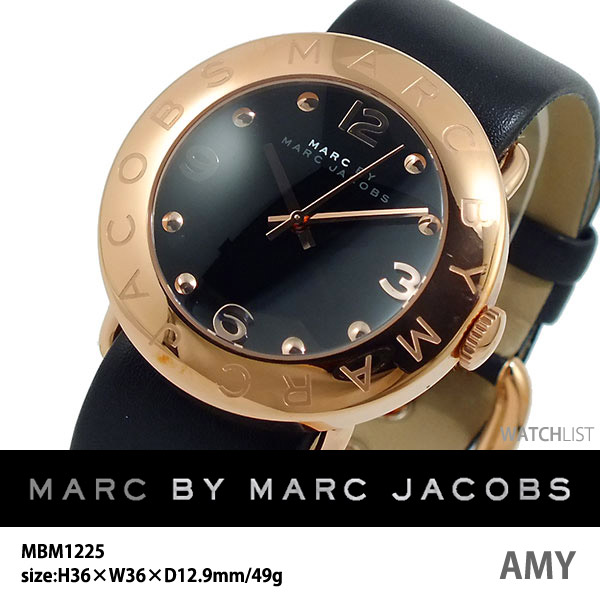 マークバイ マークジェイコブス MARC BY MARC JACOBS エイミー 腕時計 MBM1225 ウォッチ 時計 うでどけい ピンクゴールド