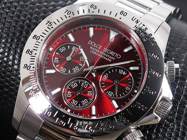 ドルチェセグレート DOLCE SEGRETO 腕時計 CG100RD 文字盤、全体