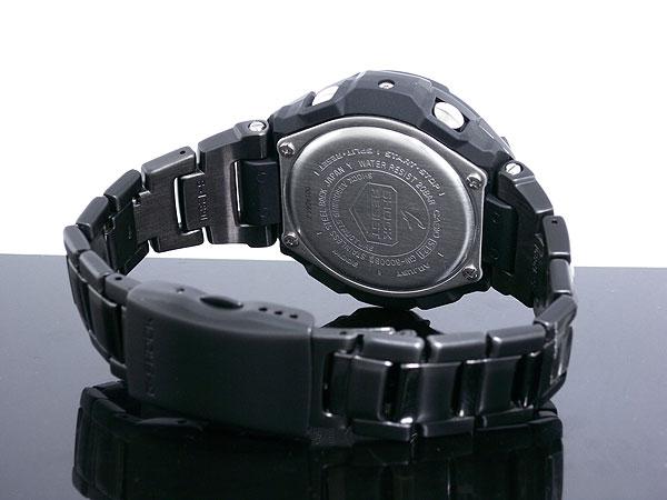 カシオ CASIO Gショック G-SHOCK スカイコックピット 電波ソーラー 腕時計 GW3000BD-1A ベルト バックル 背面