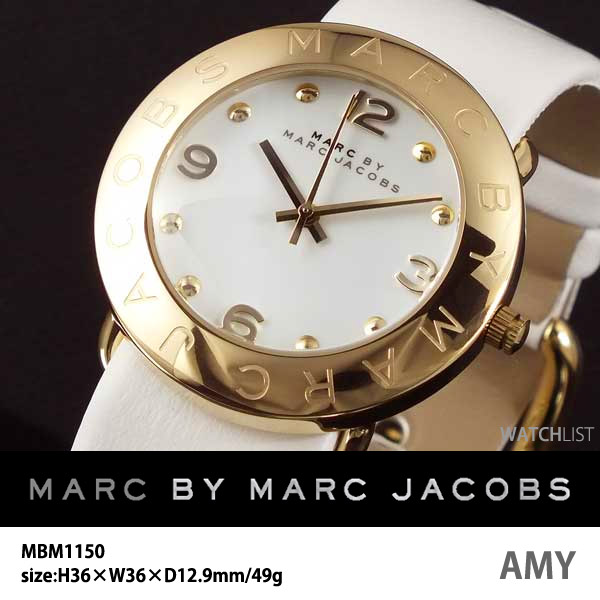 マークバイ マークジェイコブス MARC BY MARC JACOBS 腕時計 MBM1150 ウォッチ 時計 うでどけい イエローゴールド