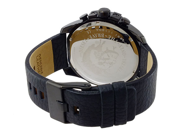 ディーゼル DIESEL クオーツ メンズ クロノ 腕時計 DZ4291 ベルト バックル 背面