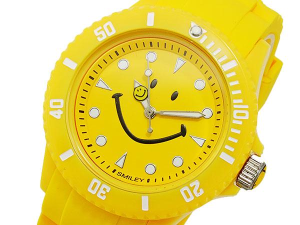 スマイリー SMILEY 腕時計 レディース/キッズ WC-HBSIL-YL 文字盤、全体