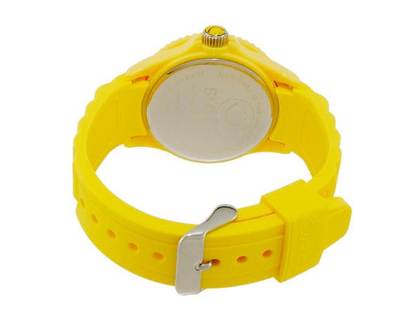 スマイリー SMILEY 腕時計 レディース/キッズ WC-HBSIL-YL ベルト バックル 背面