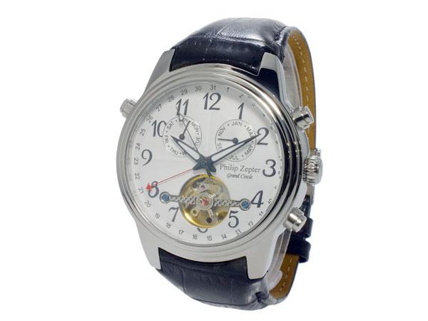 フィリップ ゼプター PHILIP ZEPTER 自動巻き メンズ 腕時計 ZW-200-07 着用イメージ