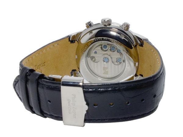 フィリップ ゼプター PHILIP ZEPTER 自動巻き メンズ 腕時計 ZW-200-07 ベルト バックル 背面