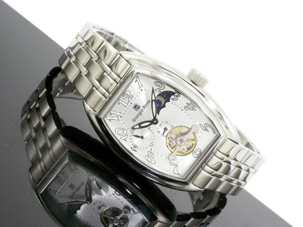 ジョルジオ ロッシ GIORGIO ROSSI 手巻き サン&ムーン 腕時計 GR-0008-SI 着用イメージ