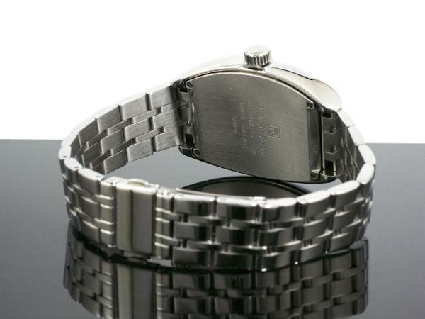 ジョルジオ ロッシ GIORGIO ROSSI 手巻き サン&ムーン 腕時計 GR-0008-SI ベルト バックル 背面