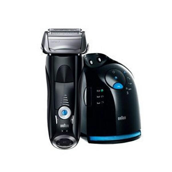 【送料無料】ブラウン BRAUN メンズ シェーバー 髭剃り シリーズ7 760CC7 ブラック/ブルー