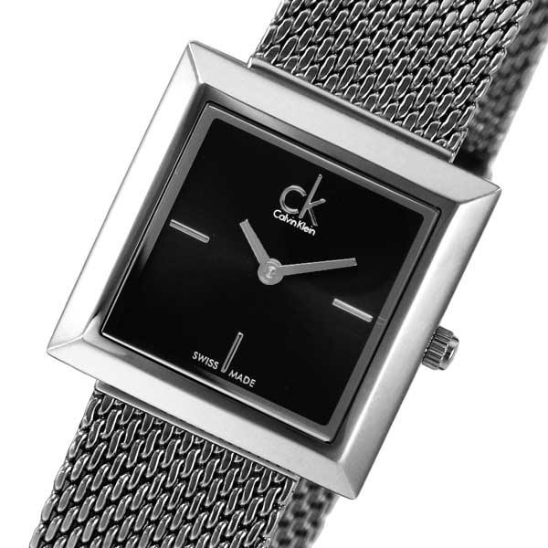 【送料無料】カルバンクライン マーク クオーツ レディース 腕時計 CLK3R23121 ブラック