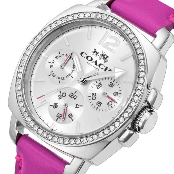 コーチ COACH ボーイフレンド クオーツ レディース 腕時計 CO14502142 ピンク