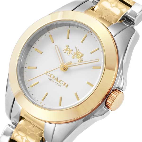 【送料無料】コーチ COACH トリステン クオーツ レディース 腕時計 CO14502186 ホワイト