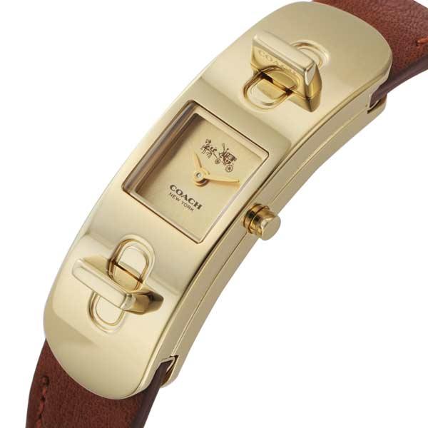 コーチ COACH スワッガー クオーツ レディース 腕時計 CO14502223 ゴールド