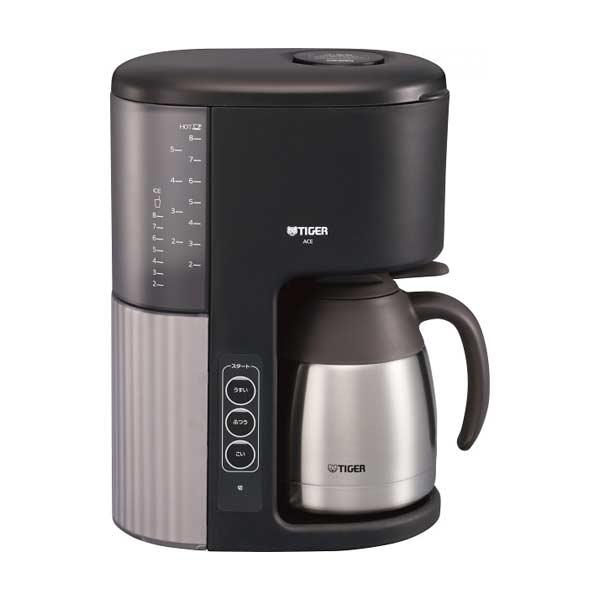 タイガー TIGER マイコンコーヒーメーカー ACE-M080KQ カフェブラック