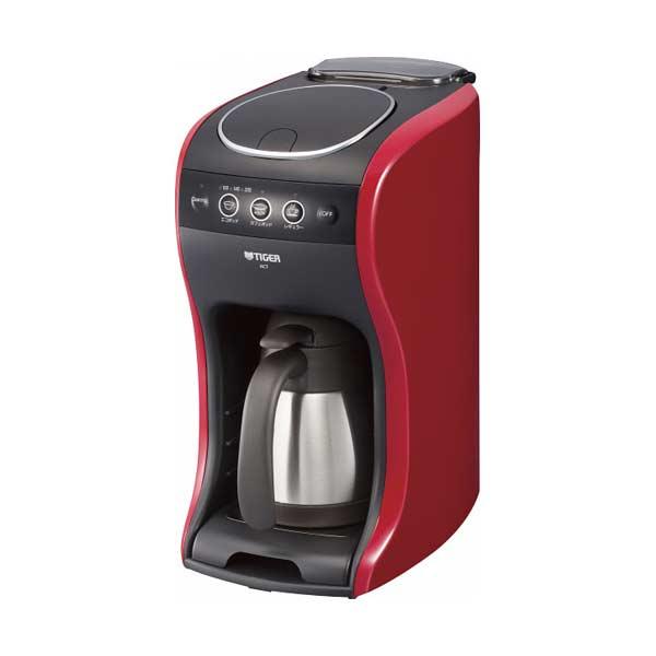 タイガー TIGER カフェバリエ コーヒーメーカー ACT-A040R 0.54L レッド