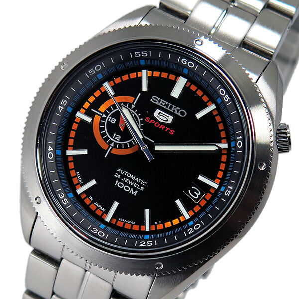 【送料無料】セイコー SEIKO 自動巻き メンズ 腕時計 SSA067J1 ブラック