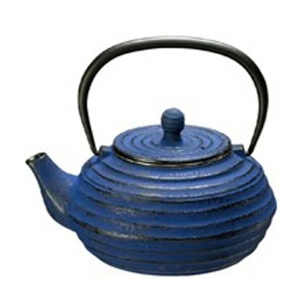 鉄瓶 ブルーベリー 0.8L 3862-BL ブルー
