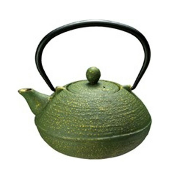 鉄瓶 オリーブ 0.6L 3882-GR グリーン