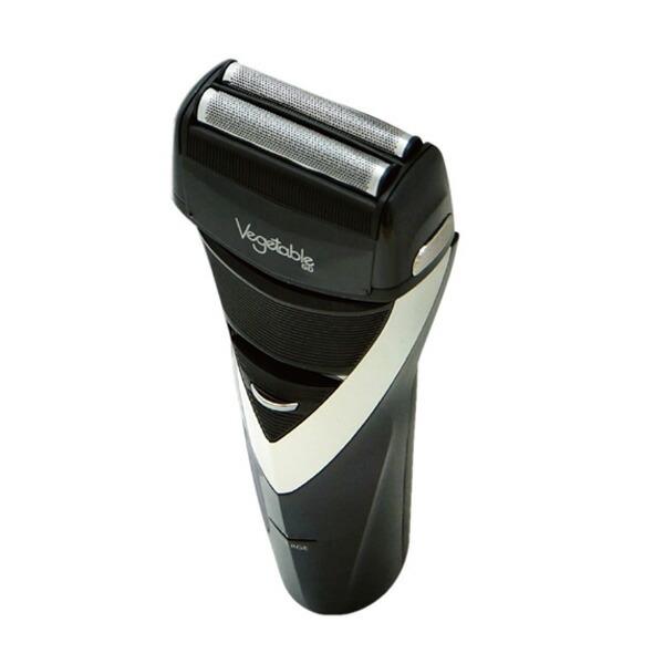 ベジタブル Vegetable 電気シェーバー 髭剃り 2枚刃 GD-ST205BK ブラック