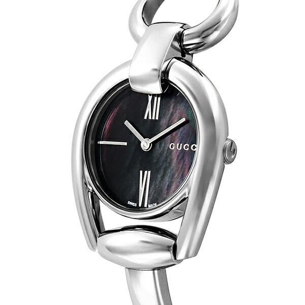 グッチ GUCCI ホースビット クオーツ レディース 腕時計 YA139503 ブラックパール