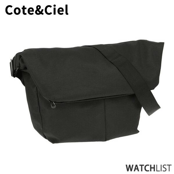 コートエシエル COTE&CIEL メンズ ショルダーバッグ 27727-BLK ブラック