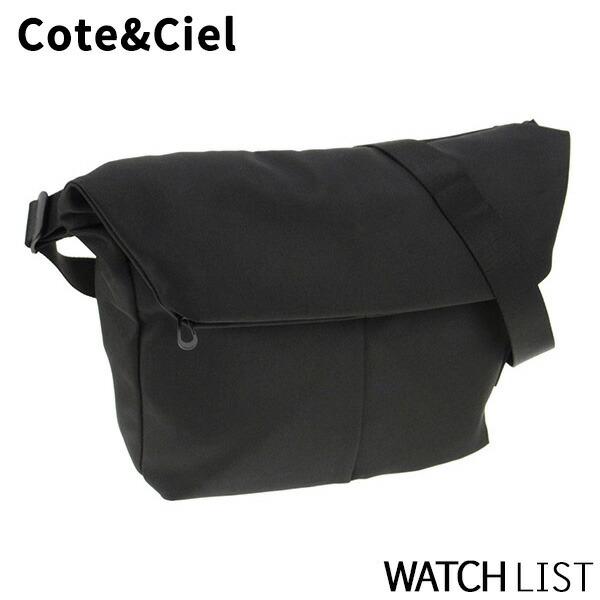 コートエシエル COTE&CIEL メンズ ショルダーバッグ 27735-BLK ブラック