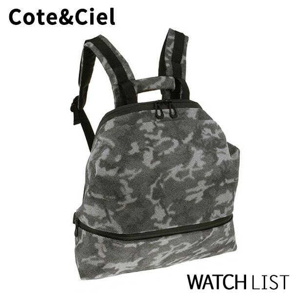 コートエシエル COTE&CIEL メンズ バックパック/リュック 28036-SGY カモフラージュ