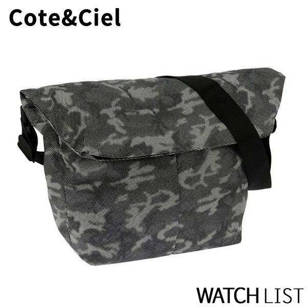 【送料無料】コートエシエル COTE&CIEL メンズ ショルダーバッグ 28064-SGY カモフラージュ