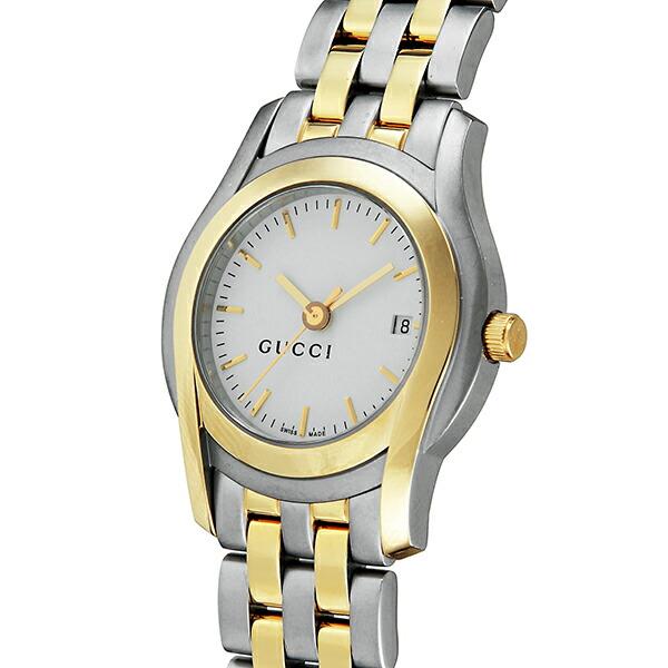 グッチ GUCCI Gクラス クオーツ レディース 腕時計 YA055528 シルバー