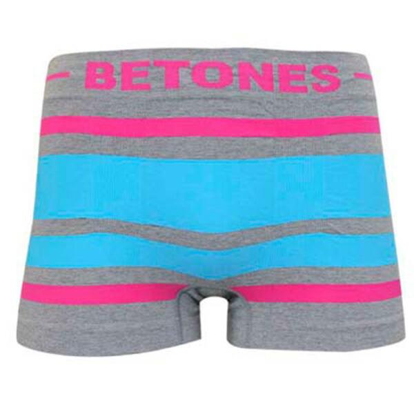 ビトーンズ BETONES ショートボクサー BREATH BR001-8 ピンク/ターコイズ