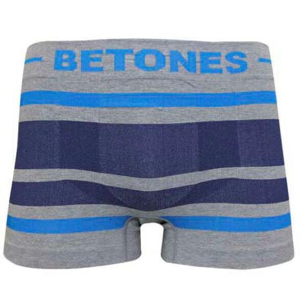 ビトーンズ BETONES ショートボクサー BREATH BR001-9 ブルー/ダークネイビー