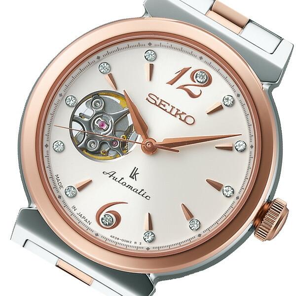 d2bea20598 セイコー SEIKO ルキア 自動巻き レディース 腕時計 SSVM010 アイボリー 国内正規