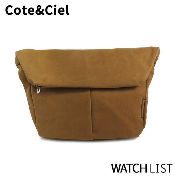 【送料無料】コートエシエル COTE&CIEL メンズ ショルダーバッグ 27739-BRW ブラウン