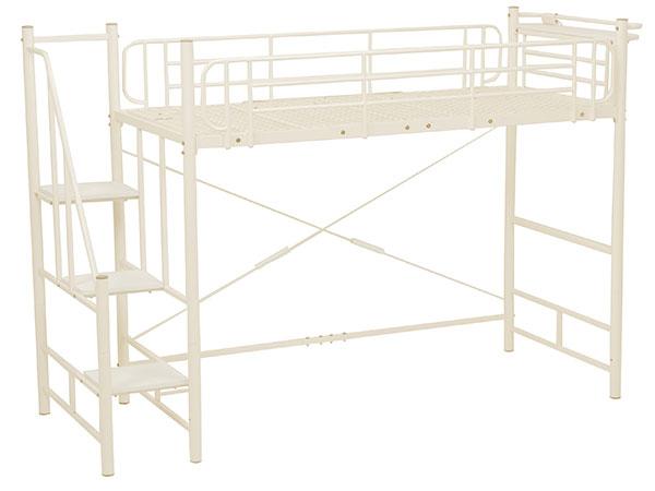 【送料無料】BED 階段ロフトベッド KH-3378M-IV 【代引不可】