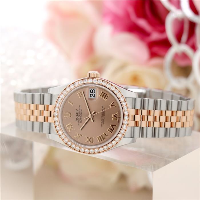 ロレックス デイトジャスト 31 278381RBR ピンク ジュビリー ROLEX 新品 レディース 腕時計 送料無料