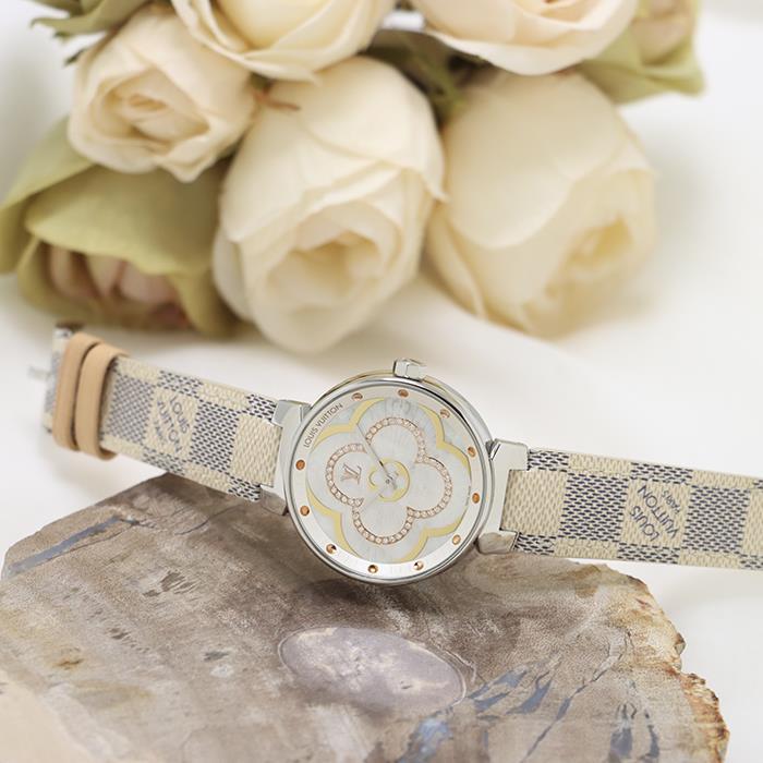 ルイ・ヴィトン タンブール ムーン ディヴァイン QA019Z LOUIS VUITTON 中古 メンズ 腕時計 送料無料