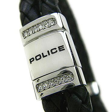 72779d5bbfa5 ポリス ブレスレット POLICE 2連レザー ROADSTER 24652BLB01 ブラック×シルバー ステンレスアクセサリー  【】【_メッセ入力】【RCP】【祝開店!大放出セール開催中】