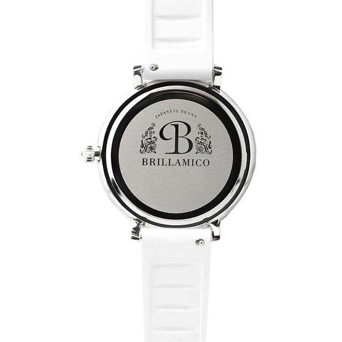 brillamico lily46mm white フェイス 裏